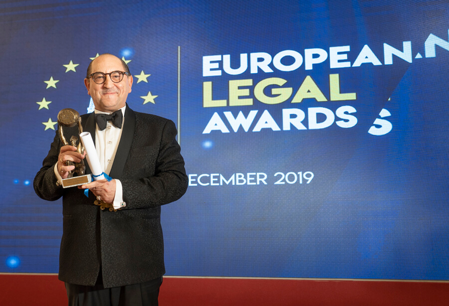 European Legal Awards Basílio Ramírez