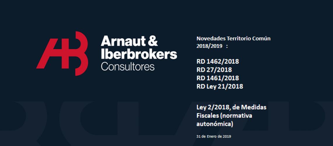 Novedades Territorio Comun 2018-2019