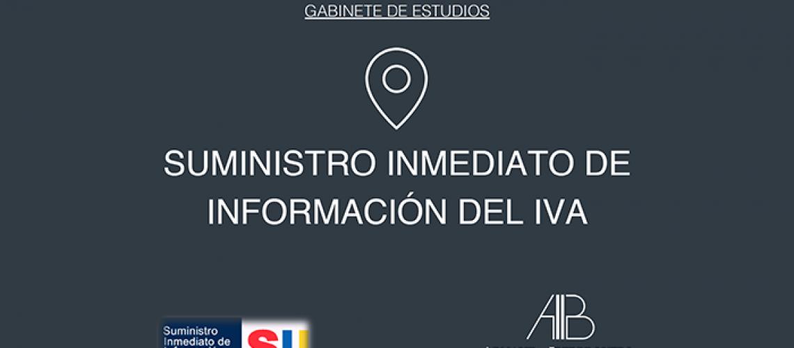 Suministro Inmediato de Información del IVA (SII)